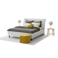 Modern Double Bed 03