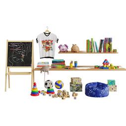 Set For Children'S Little Things