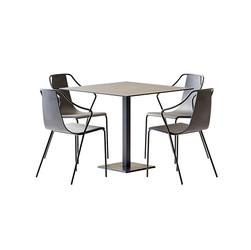 Table Set - Metallic Table Edge Q By Col