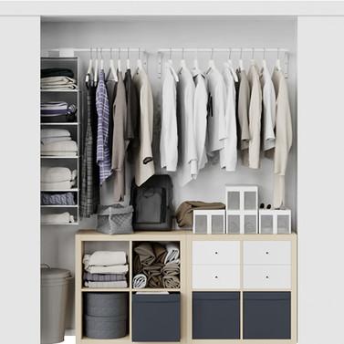 Clothes In Wardrobe - Ikea Garderom.jpg