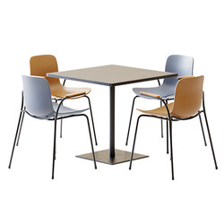 Table Set - Square Table Stan By Viccarb