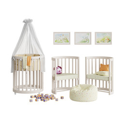 Cradle And Chair Ellipsebed