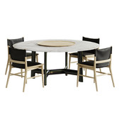 Jens Chair Alex Table Set