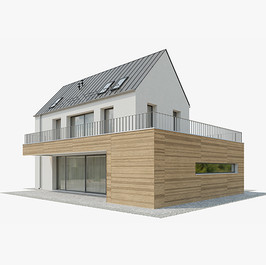 House - Modern House 13 With Garage
