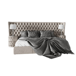 Vogue Letto Kingsize Bed