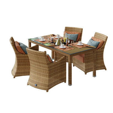 Armchair Dolcefarniente Scauri + Table