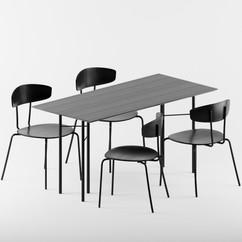 Herman Chair set