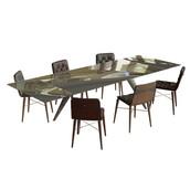 Ramos Table + Kate Chair Set