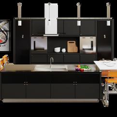 Kitchen scene 02