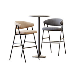 Table Set - High Table Alfiere At-Q By C