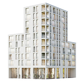 Building - Modern Residential Building 01
