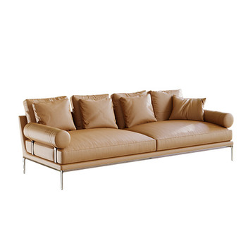 B&B Atoll Leather Sofa