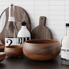 Kitchen Decorations Set 2