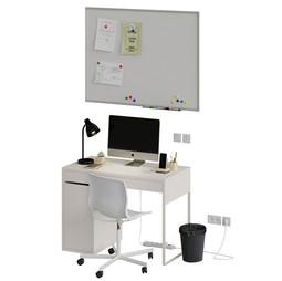 Modern Detailed Workplace Scene