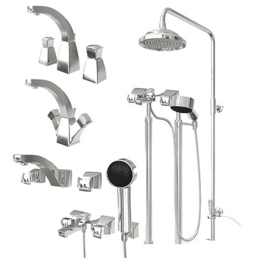 Shower Heads And Water Taps Collection
