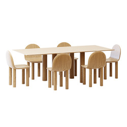 Table And Chair Set - Sara Ellison Woode