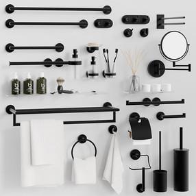 Bathroom Accessories - Bemeta Dark Acces