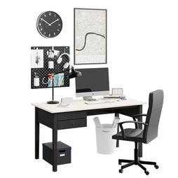 Workplace Scene - Ikea Arkelstorp Writin