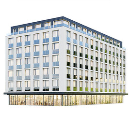 Building - Modern Residential Building 05