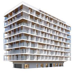 Building - Modern Residential Building 03