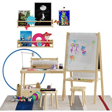 Childroom Scene - Childroom Decorative