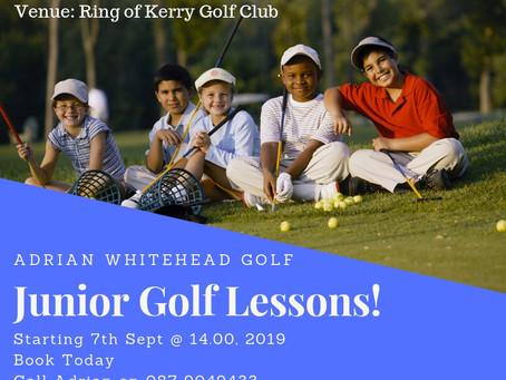 Junior Golf Sessions