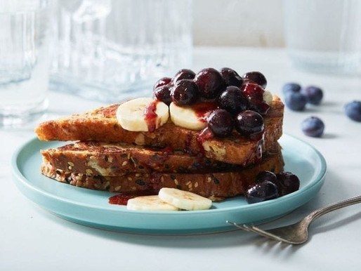 Banana Blueberry French Toast