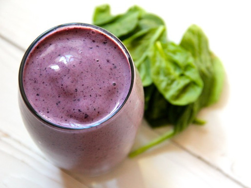 Berry Smoothies with Greens
