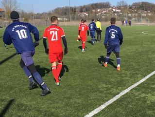 FC Reichstorf bei eiskalten Temperaturen mit Testspielniederlage gegen den FC Dornach