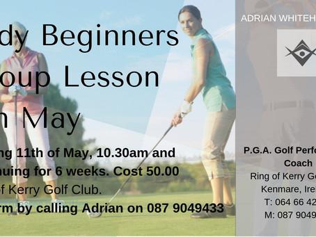 Ladies Beginner Group Classes