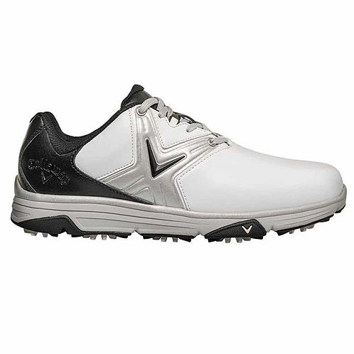 Callaway, Gents Chev Comfort Shoes White - Black