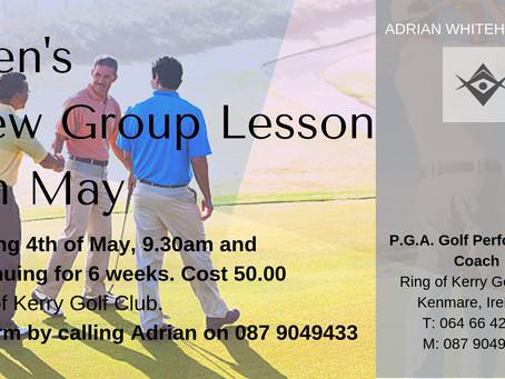 Men's Golf Lessons