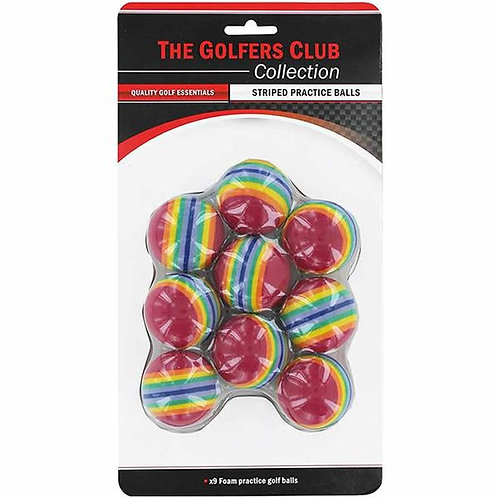 Golfers Club Collection, Rainbow sponge ball