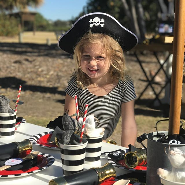 Fletcher loves her Pirates!
