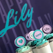 Purpe and Teal Party