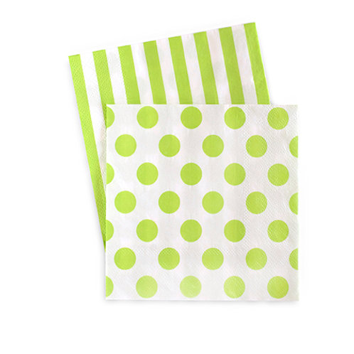 Cocktail Napkin Apple Green 20pcs