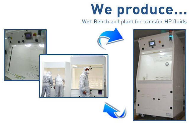 Wet benches semiconductors