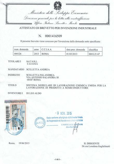 SAT patents
