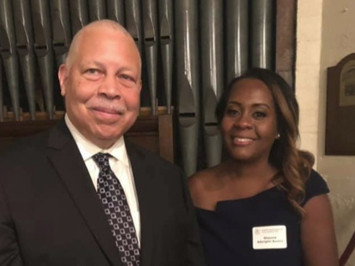 Great seeing you at the Installation of Kappa Brother Jack Clark as President of the Riverside County Bar Association — with Shauna Albright Austin at Mission Inn Downtown Riverside.