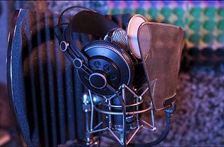 Image of a studio mic
