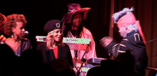 Cori Jacobs and Sly Stone