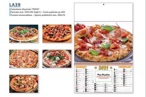 """100 Calendari Illustrati """"PIZZA"""""""