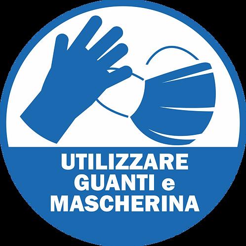 ADESIVI cm 30x30 Utilizzare guanti e mascherina