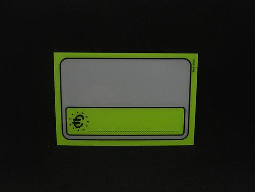 SEGNAPREZZO FLUO PVC 010/s