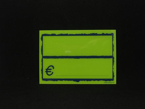 SEGNAPREZZO FLUO PVC Mod. EURO/25