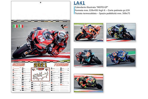 "100 Calendari Illustrati ""MOTOGP"""