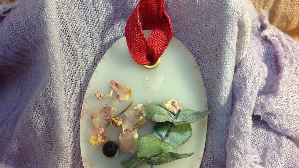 Floral and Wax Plate 2