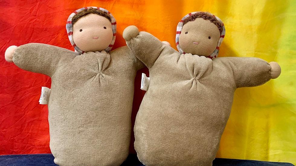 Handmade bunting dolls