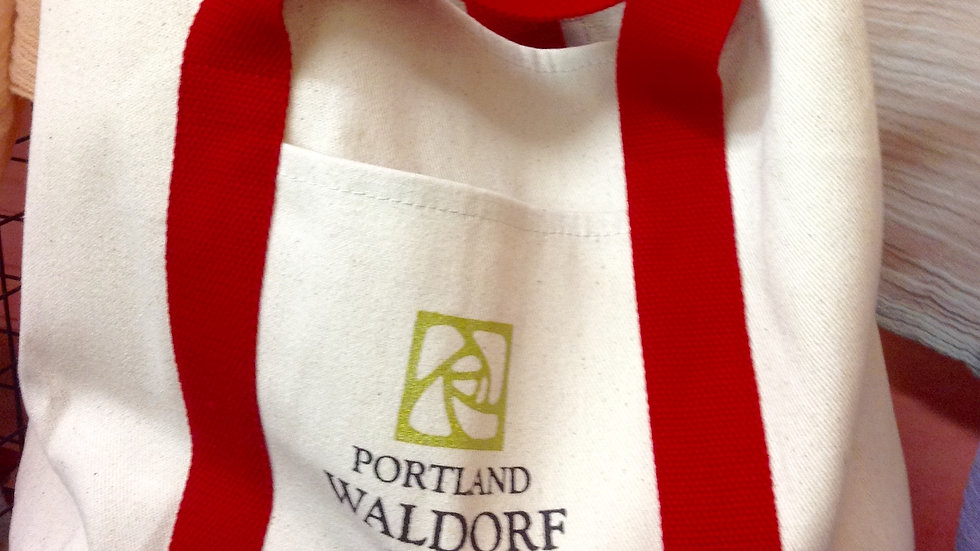 Red PWS Tote Bag