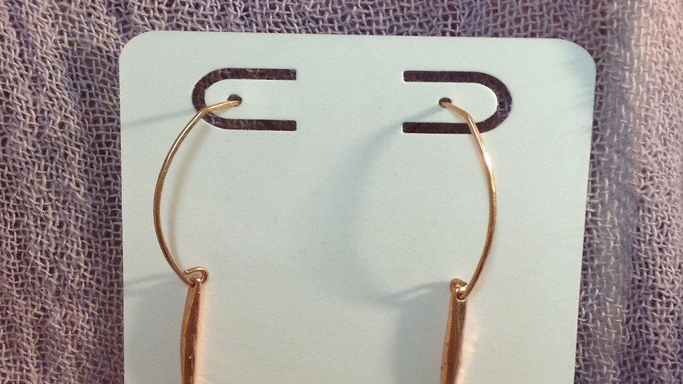 Copper Plated Drop earrings